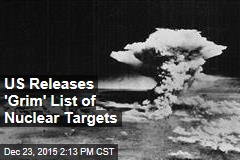 US Releases 'Grim' List of Nuclear Targets