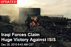 Iraqi Forces Claim Huge Victory Against ISIS