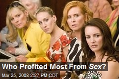 Who Profited Most From Sex ?