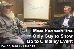 Meet Kenneth, the Only Guy to Show Up to O'Malley Event
