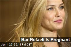 Bar Refaeli Is Pregnant