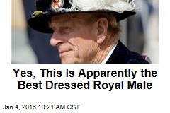 Yes, This Is Apparently the Best Dressed Royal Male
