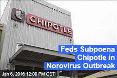 Feds Subpoena Chipotle in Norovirus Outbreak