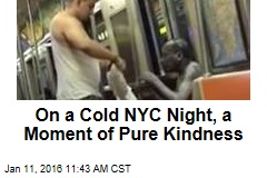 On a Cold NYC Night, a Moment of Pure Kindness