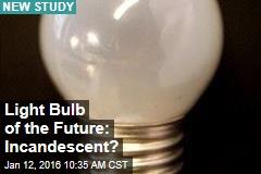 Light Bulb of the Future: Incandescent?