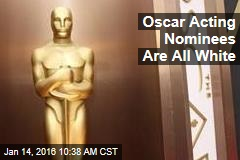 Oscar Acting Nominees Are All White