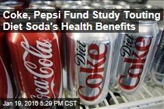 Coke, Pepsi Fund Study Touting Diet Soda's Health Benefits