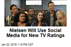Nielsen Will Use Social Media for New TV Ratings