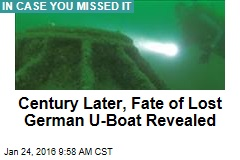 More Than a Century Later, Lost German U-Boat Found