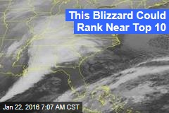 Approaching Blizzard Could Rival 'Snowmageddon'