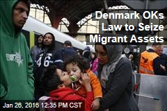 Denmark OKs Law to Seize Migrant Assets