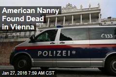 US Student Found Dead in Austria