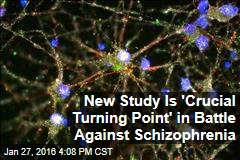 New Study Is 'Crucial Turning Point' in Battle Against Schizophrenia