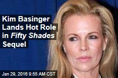Kim Basinger Lands Hot Role in Fifty Shades Sequel