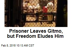 Prisoner Leaves Guantanamo, but Freedom Eludes Him