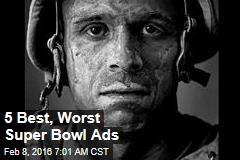 5 Best, Worst Super Bowl Ads