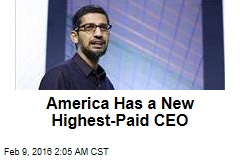 America Has a New Highest-Paid CEO