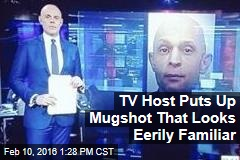 TV Host Puts Up Mugshot That Looks Eerily Familiar