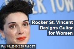 Rocker St. Vincent Designs Guitar for Women