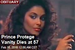 Prince Protege Vanity Dies at 57