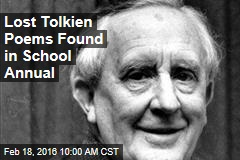 Lost Tolkien Poems Found in School Annual