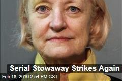 Serial Stowaway Strikes Again