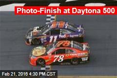Photo-Finish at Daytona 500