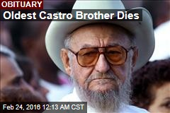 Oldest Castro Brother Dies