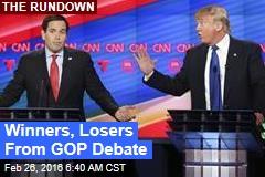 Winners, Losers From GOP Debate