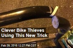 Clever Bike Thieves Using This New Trick