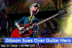 Gibson Sues Over Guitar Hero