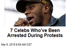 7 Celebs Who've Been Arrested During Protests