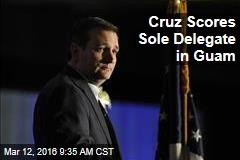 Cruz Scores Sole Delegate in Guam