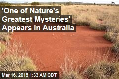 'One of Nature's Greatest Mysteries' Appears in Australia