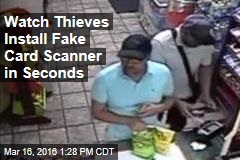 Watch Thieves Install Fake Card Scanner in Seconds