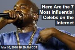 Here Are the 7 Most Influential Celebs on the Internet