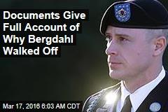 Bergdahl Explains Why He Walked Off Base