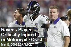 Ravens Player Critically Injured in Motorcycle Crash