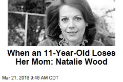 When an 11-Year-Old Loses Her Mom: Natalie Wood
