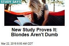 Blondes Have More Fun— and Smarts, Scientists Find