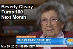 Beverly Cleary Turns 100 Next Month