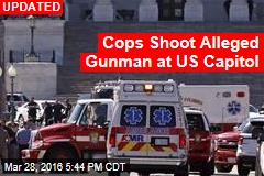 Shooter 'Caught' at US Capitol, Officer Wounded