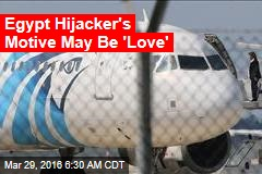 Egyptian Plane Hijacked