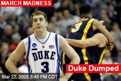 Duke Dumped