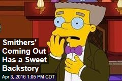 Smithers' Coming Out Has a Sweet Backstory