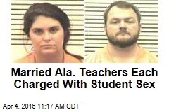 Married Ala. Teachers Each Charged With Student Sex