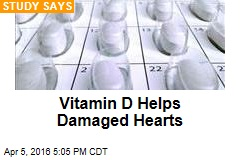 Vitamin D Helps Damaged Hearts