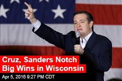 Cruz, Sanders Lead in Wisconsin Exit Polls