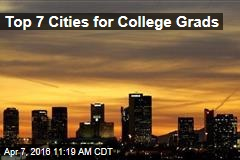 Top 7 Cities for College Grads