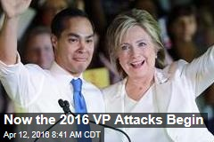 Now the 2016 VP Attacks Begin